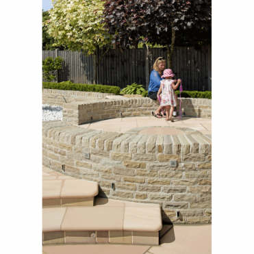 Fairstone Traditional Natural Stone Walling - Tumbled Sandstone