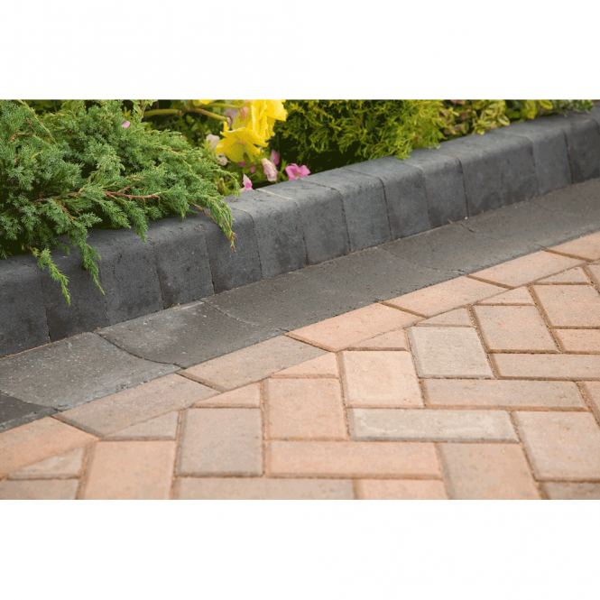 Marshalls Keykerb Half Battered and Splay Driveway Kerbs - KL Standard 100x127x200