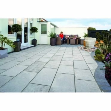 Lazaro Marble Paving - 4 Size Mix Project Pack 12.32m2 Per Pack