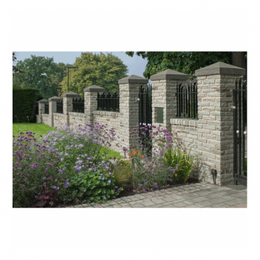 Marshalite Pitched Faced Garden Walling - Single Size Packs