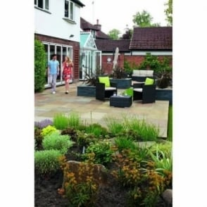 Standard Indian Sandstone Paving - 22mm Calibrated