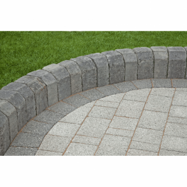 Tegula Kerb Edging - 130x96x160x250 Radial Ext (Pack of 60)