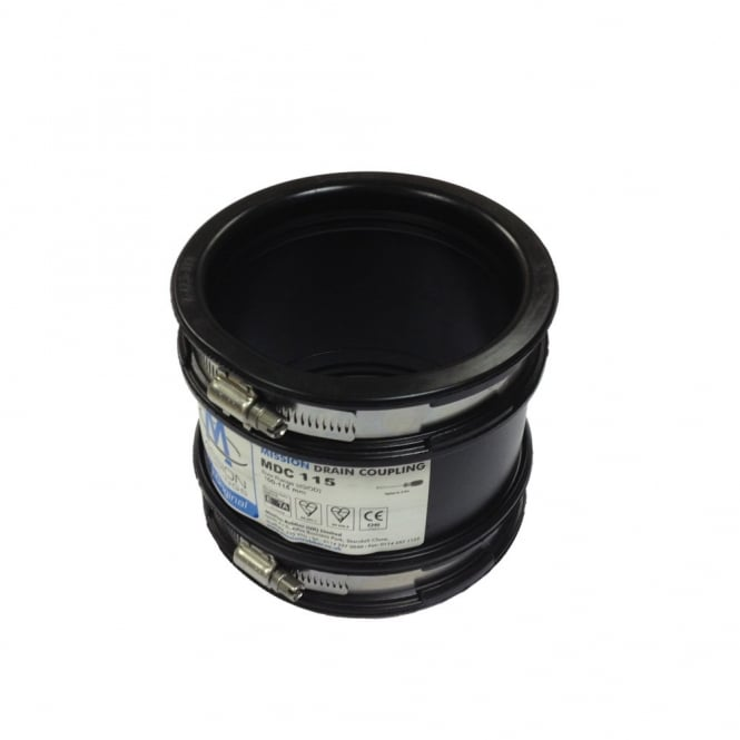 Drain Coupling MDC 115 100-115mm