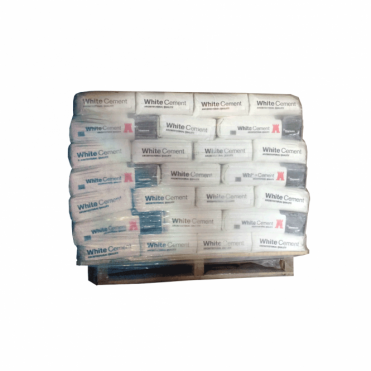 Pallet of Beatsons White Cement - UK - 56 bags