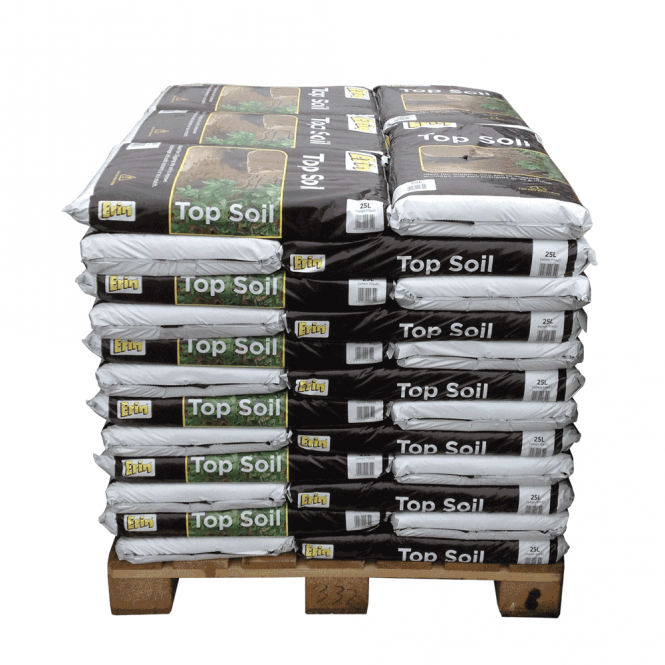 Pallet Alley Pallet of Garden Top Soil (40x25ltr Bags)