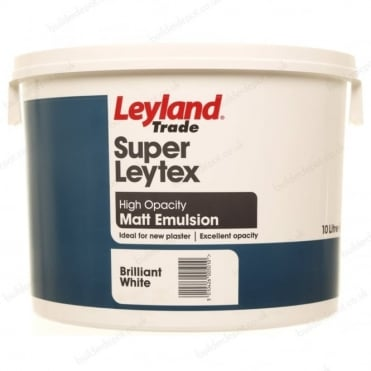 Pallet of Leyland Trade Super Latex Magnolia - 24 tubs