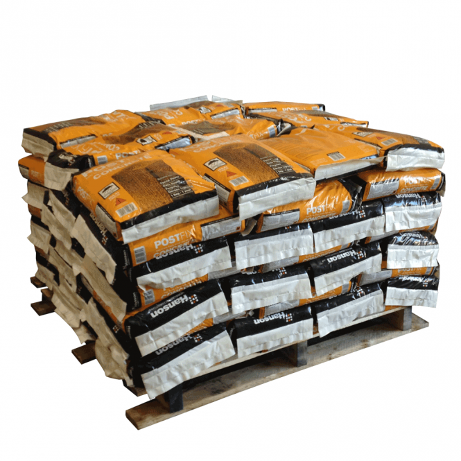Pallet Alley (UK)Pallet of Post Fix Contract Standard Concrete Post Mix (60 X 20kg Bags)