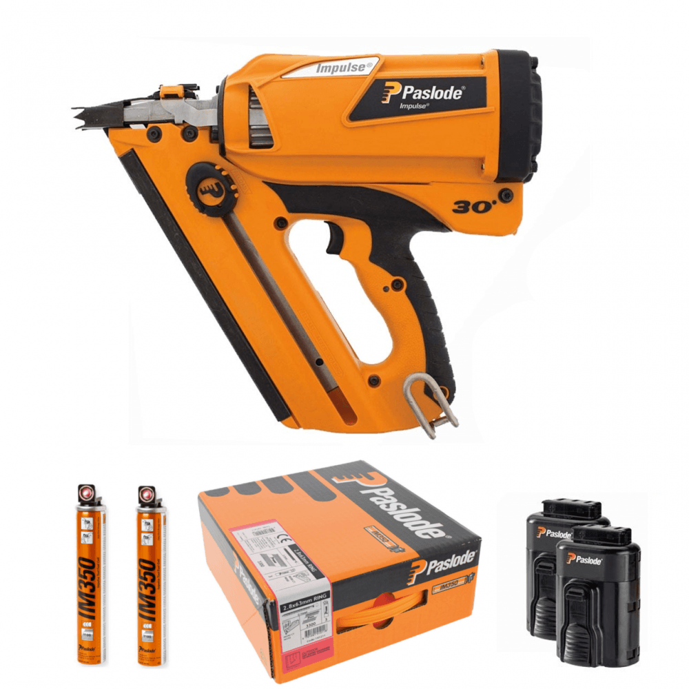 Paslode Im350 Framing Nailer Promo Kit