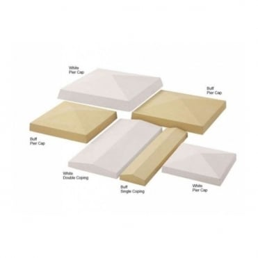 Pyramid Pier Cap 305x305mm (Pack of 8)