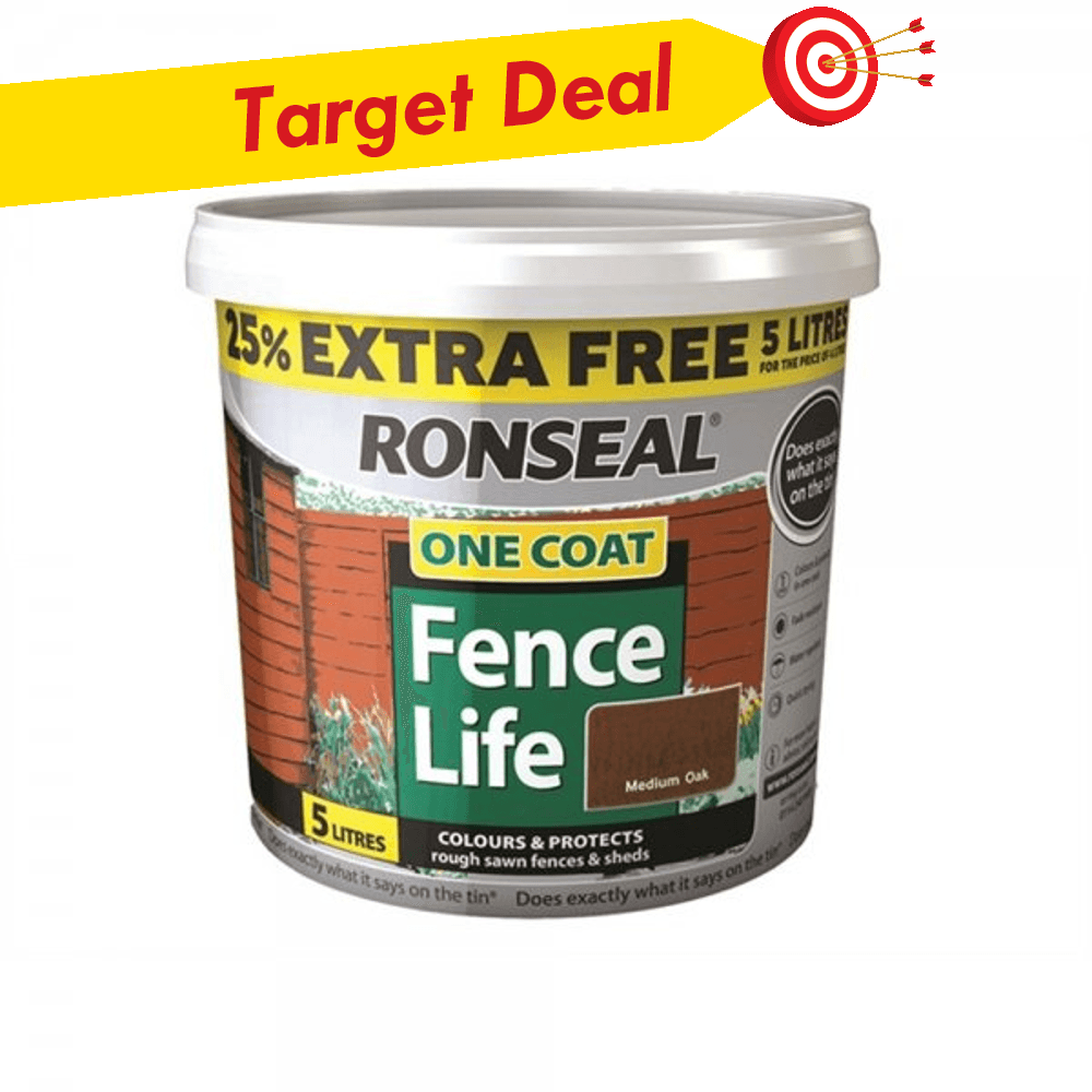 Ronseal One Coat Fencelife 5L