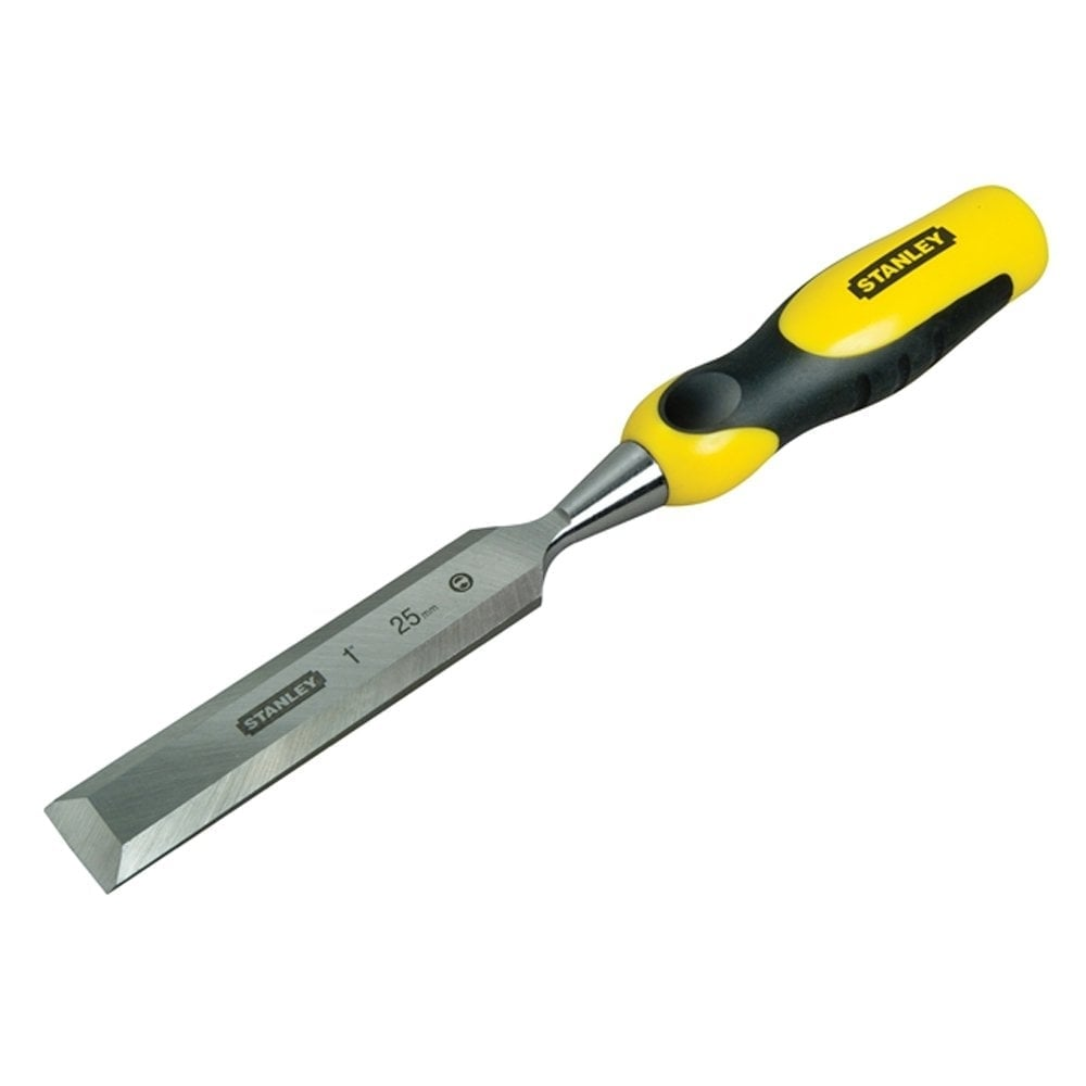 Stanley Dynagrip Chisel With Strike Cap 25mm