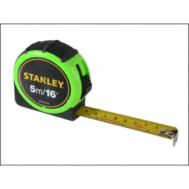 Stanley Hi-Vis Tape 5m/16ft