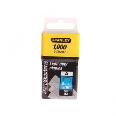 Light-Duty Staple 8mm (1000) 0-TRA205T