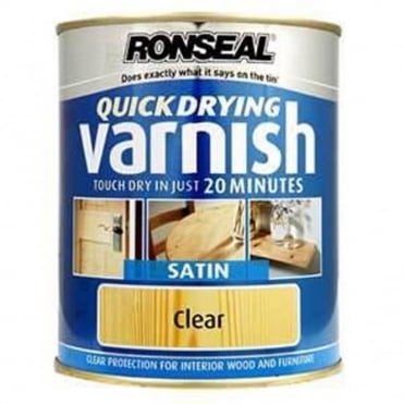 Trade Quick Dry Varnish Clear Satin