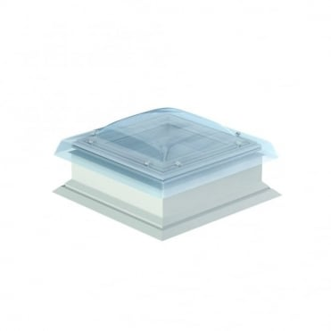 CSP S10G Flat Roof Smoke Ventilation System with Clear Cover