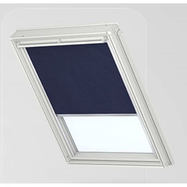 Dkl blackout blind dark blue 1100 for Velux customer support