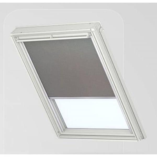 Dml electric blackout blind grey 0705 for Velux customer support