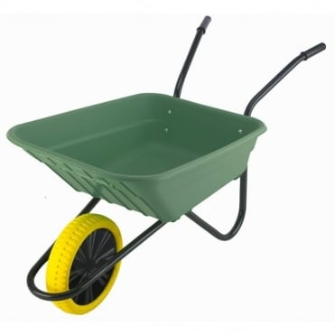 90L Multipurpose Polypropylene Wheelbarrow in Box With Titan Puncture Proof Wheel