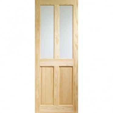 Internal Clear Pine Victorian with Clear Glass Door