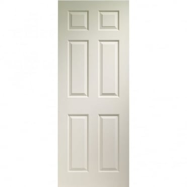 Internal White Moulded Colonist 6 Panel Fire Door